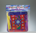 """Happy Chanukah"" Banner with dreidle"