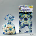Chanukah Cellophane Party Bags with Twist Ties