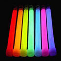 Glow in the dark wands