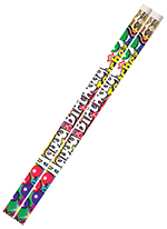 Happy Birthday from your Teacher Pencil