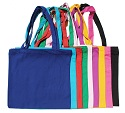 Canvas Bright Color Large Tote