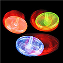 LIGHT UP SPIN TOPS 1 DOZ