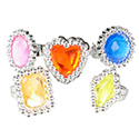 PLASTIC JEWEL RINGS 144 PACK