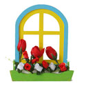 Large Floral Window Box