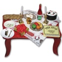 Purim Table Cutout